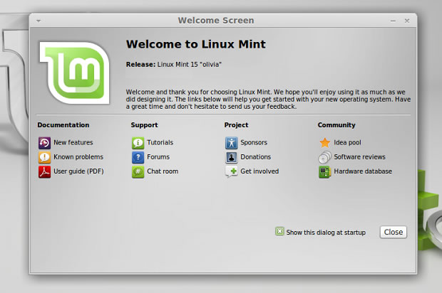 Versión final de Linux Mint 15 Olivia ya está disponible para su descarga
