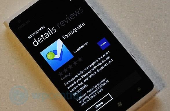 Foursquare lanza una aplicación con realidad aumentada exclusiva para Nokia