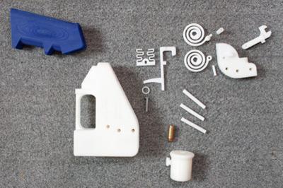 Arma creada con una impresora 3D es prohibida en los Estados Unidos