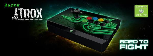 Razer Atrox, el control arcade personalizable para la Xbox 360
