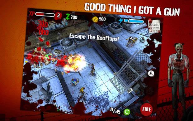Zombie HQ, sobrevive a un apocalipsis zombie en este juego para Android