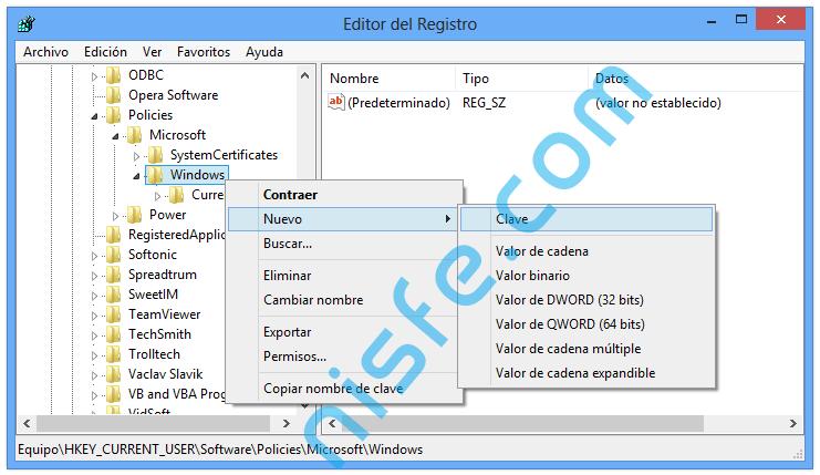 Desactivar Aero Shake en Windows 8