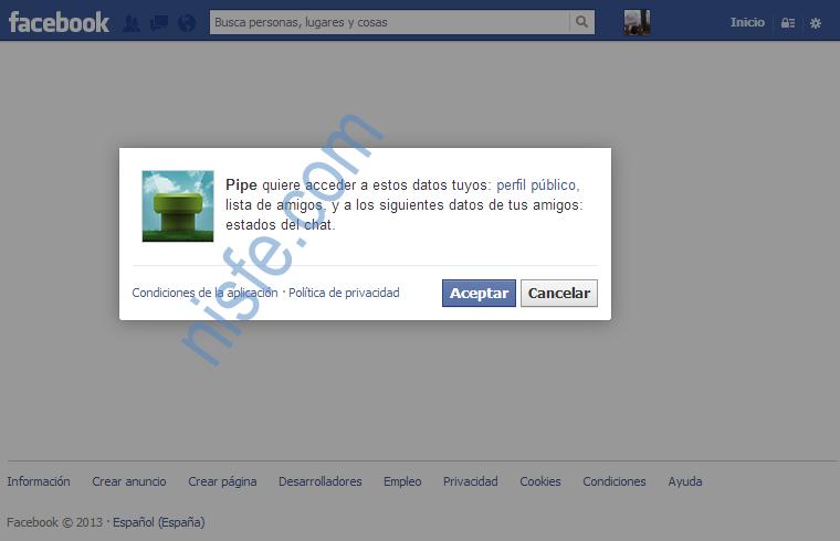 Como enviar archivos en Facebook usando Pipe