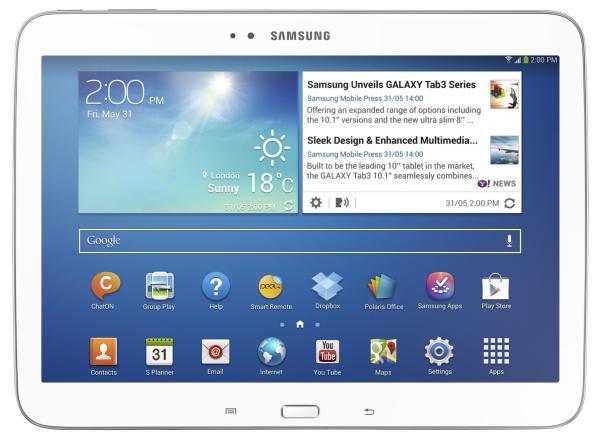 Galaxy Tab 3 de 8 y 10,1 pulgadas son anunciadas por Samsung