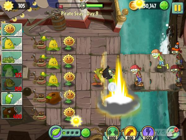 "Plants vs Zombies 2 It's About Time totalmente gratuito ""free to play"""