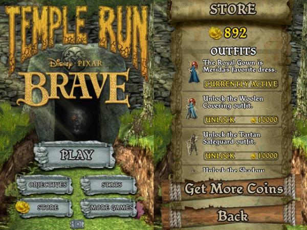 Temple Run Brave aterriza en Windows Phone 8