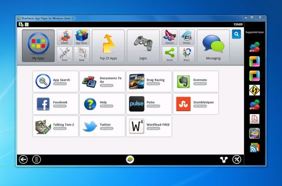 BlueStacks App Player, ejecuta aplicaciones Android en tu PC