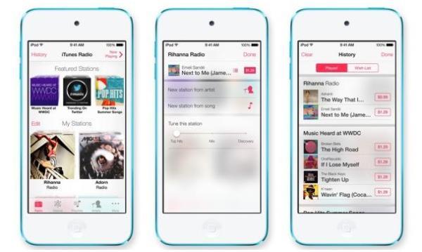 Apple lanza iTunes Radio, servicio de streaming de música gratuito