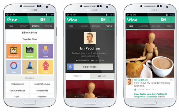 Vine, la famosa app de gifs de Twitter, finalmente llega a Android