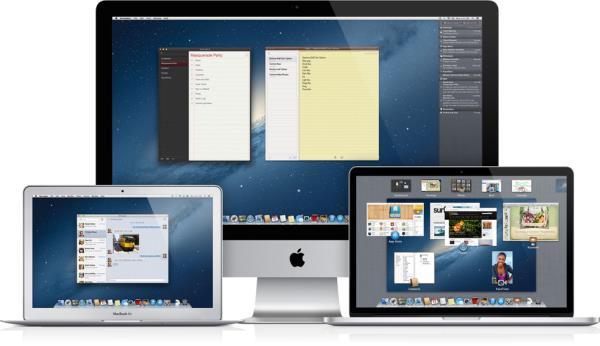 Mac OS X Lion - Fuente imagen : Apple