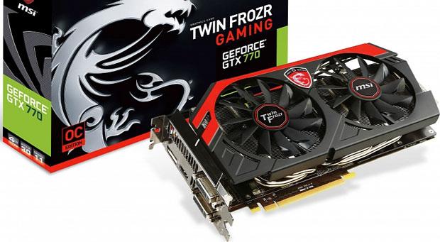 MSI crea versión de 4 GB de la Geforce GTX 770