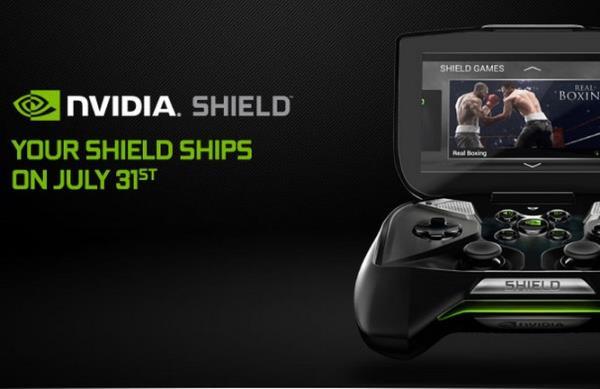 NVIDIA SHIELD sera lanzada el 31 de julio