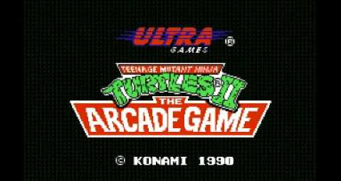Tortugas Ninjas 2: The Arcade Game