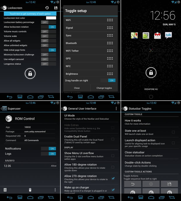 AOKP (Android Open Kan Project)