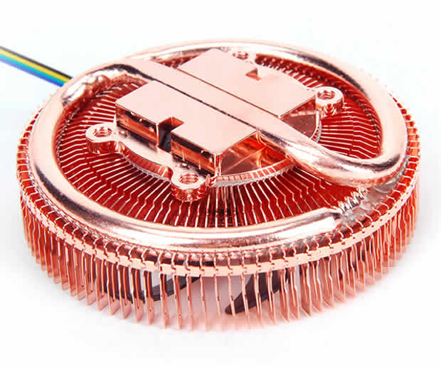 Cooler ultra-compacto de 83 gramos para procesadores