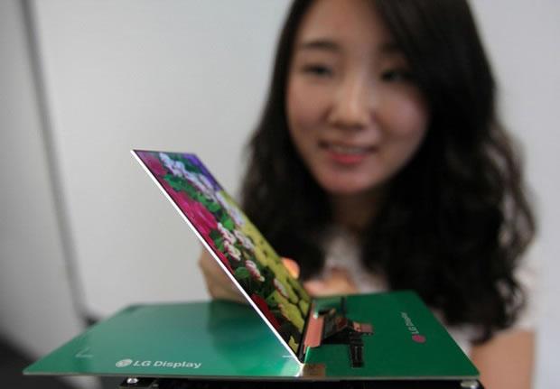 LG presenta su pantalla para Smartphone mas delgada del mundo, con solo 2,2 mm