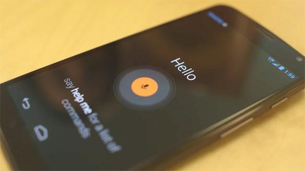 Moto X, responde a los comandos de voz, aunque se encuentre bloqueado