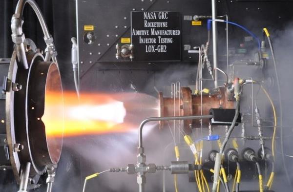 NASA prueba componente de cohete espacial creado mediante la impresion 3D