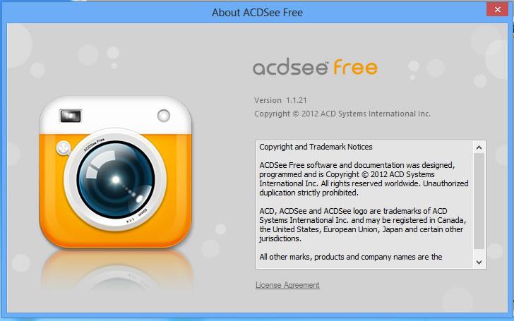 ACDSee Free, versión gratuita