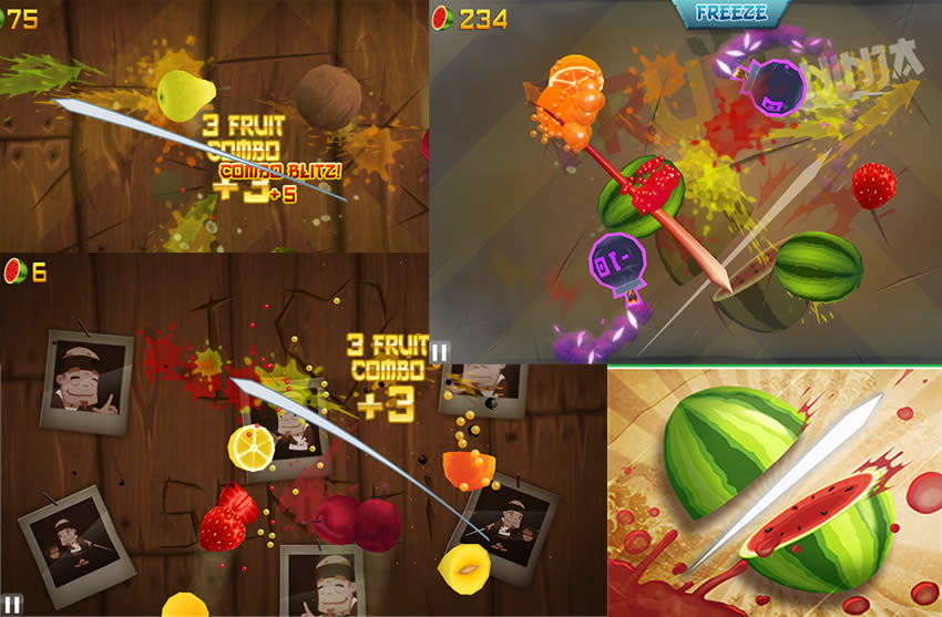 Fruit Ninja para Windows Phone 8