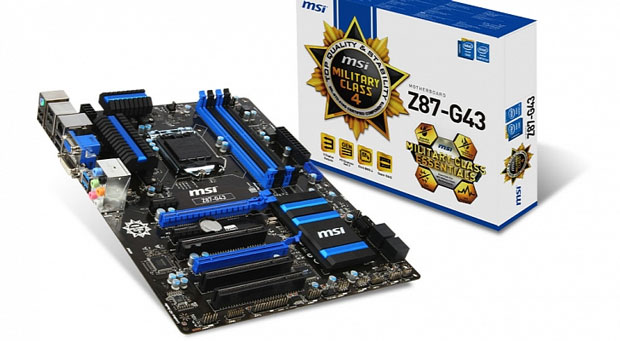 MSI Z87-G43 es la primera placa base certificada para Windows 8.1