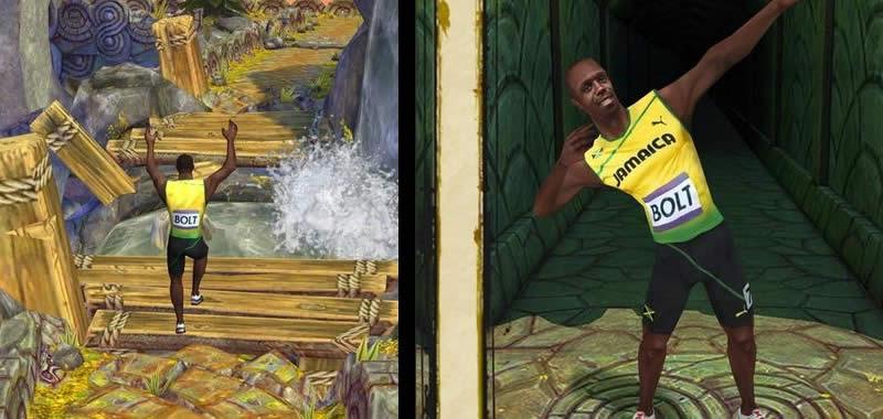Temple Run 2, Usain Bolt se vuelve personaje via DLC en el popular juego de aventura