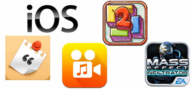 Apps para iOS de la semana: Tapatalk, Mass Effect Infiltrator, Doodle Fit 2 entre otros