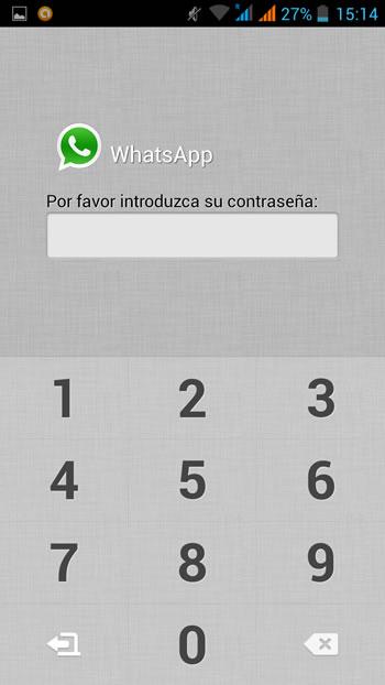 Para ingresar a WhatsApp nos pide la clave