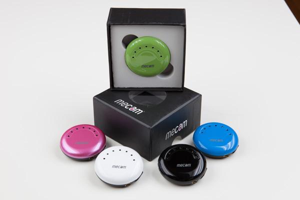 Mecam, una mini camara que graba en HD y que puede ser usada en la ropa