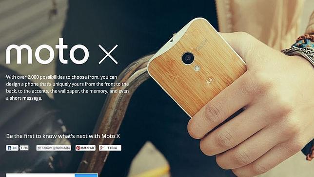 Moto X, el primer smartphone creado por Motorola y Google