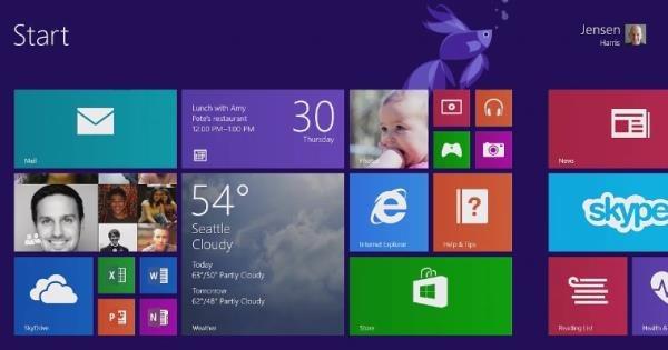 Windows 8.1 ya esta listo y será lanzado el 17 de octubre