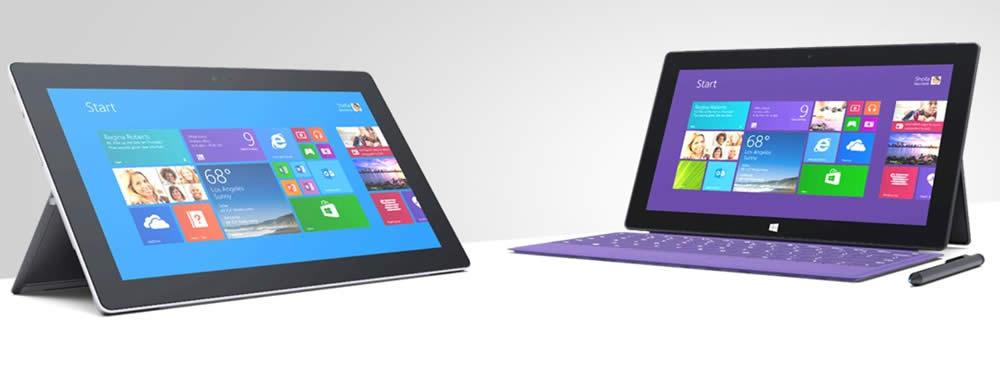 Surface 2 y Surface Pro 2, todo sobre las tablets de Microsoft