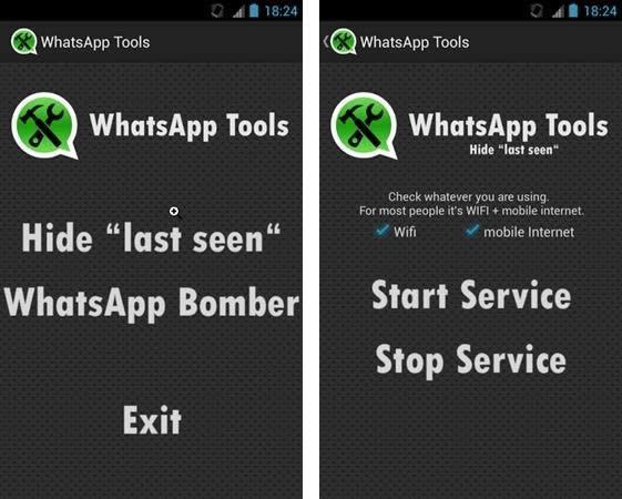 Cambiando de estado en WhastApp con W-Tools