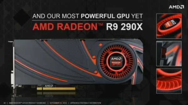 Radeon R9 290X es la nueva linea de tarjetas de video de AMD