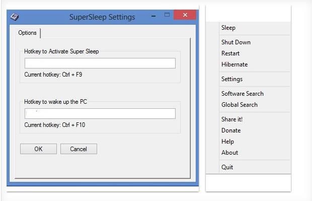 Super Sleep, bloquea tu PC poniendolo en hibernación con una combinación de teclas