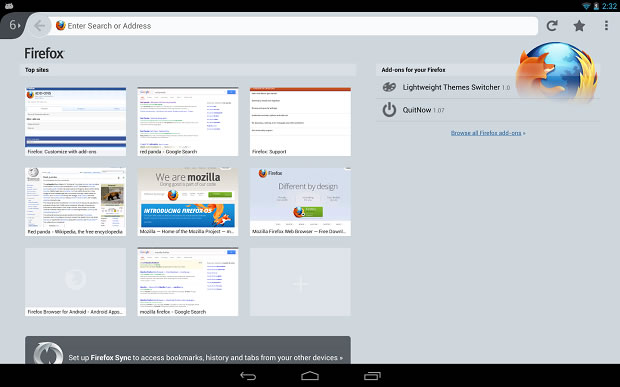 Firefox para Android se actualiza y ofrece nuevos recursos