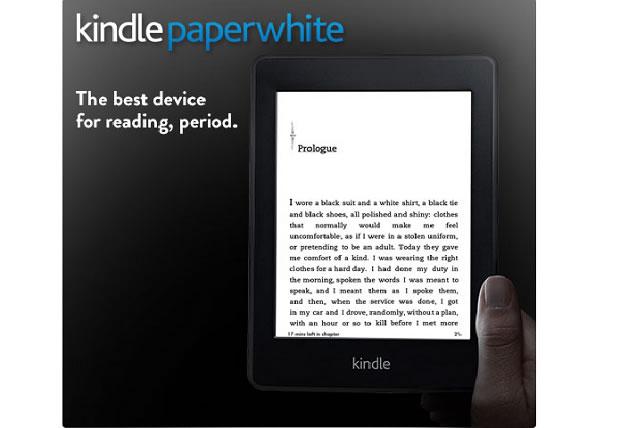 Kindle Paperwhite, el e-reader con pantalla iluminada es anunciado por Amazon