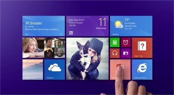 botón inicio de Windows 8