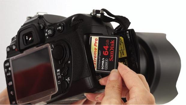 CompactFlash SanDisk Extreme Pro de 256 GB