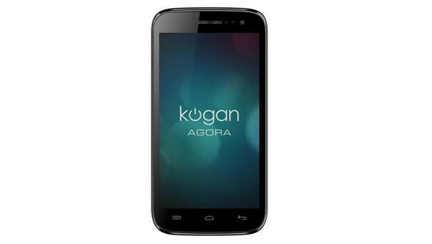 Smartphone Kogan Agora, procesador quad core y pantalla de 5 pulgadas por US$ 189