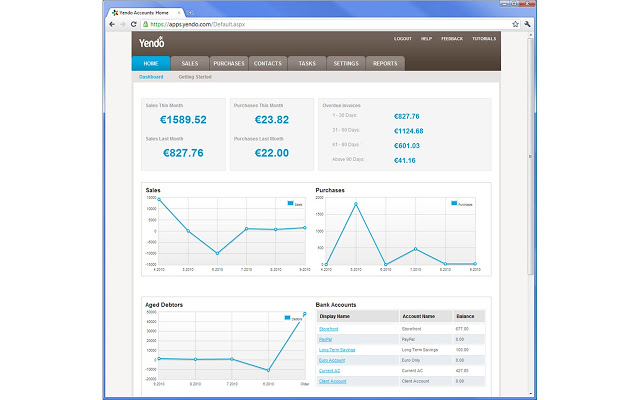 Yendo Contabilidad, completa aplicación para la gestión de las finanzas de una empresa