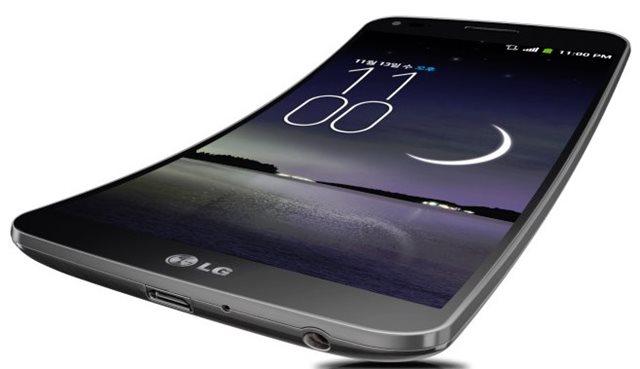 LG G Flex con pantalla curva de 6 pulgadas, es el primer smartphone de LG curvado