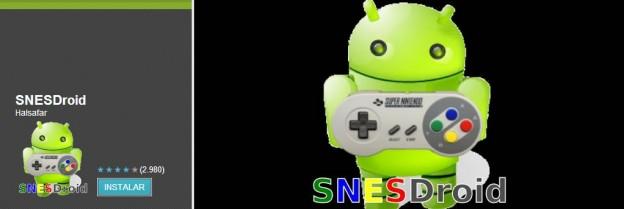 SNESdroid, emulador de Super Nintendo para Android