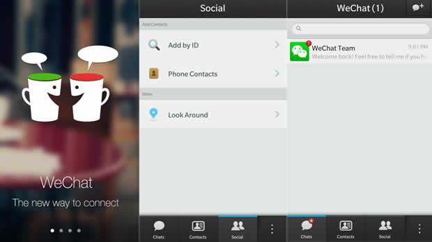 WeChat – gratis