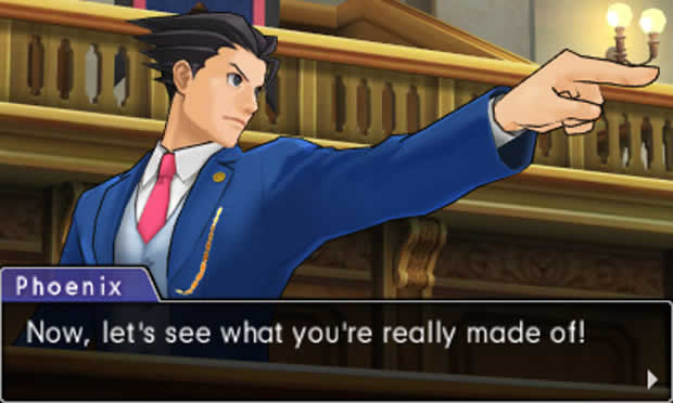 Phoenix Wright: Ace Attorney – Dual Destinies (3DS)