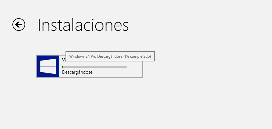 Actualizando a Windows 8.1