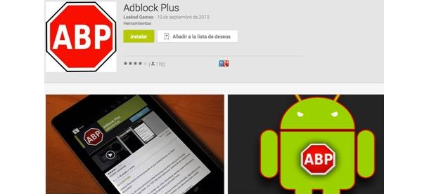 Aplicación falsa de AdBlock Plus para Android pone en peligro tu privacidad