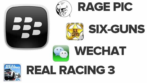 apps blackberry