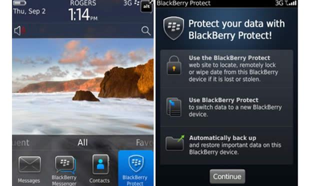 Blackberry Protect – gratis