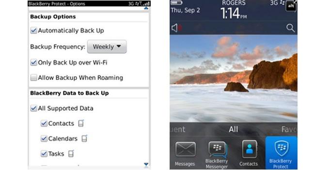 BlackBerry Protect, protege la información de tu BlackBerry con esta aplicación